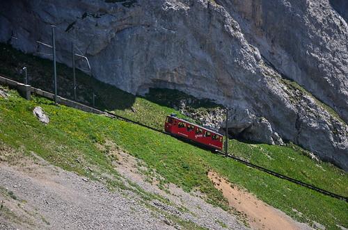 Mt. Pilatus cogwheel train