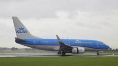 Boeing 737-7K2 c/n 30371 KLM Royal Dutch Airlines registration PH-BGE (sirgunho) Tags: amsterdam airport schiphol aircraft holland the netherlands polderbaan phbge klm royal dutch airlines boeing 737700 b737 7377k2 cn 30371 registration
