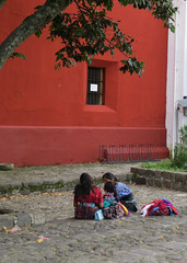 IMG_0145 (Splendid Wren Photography) Tags: guatemala huipil textile courtyard indigenous craft cobblestone