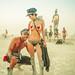 Burning Man Posing