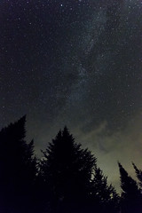 IMG_7369 (Sergey Kustov) Tags: canada quebec mauricie national park night star sky milky way galaxy universe space lake forest nature panorama light water reflection
