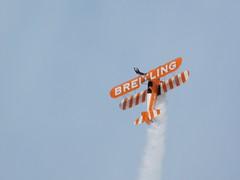 Southport Air Show 2017: Breitling Wingwalker (16/09/2017) 1/7 (David Hennessey) Tags: southport air show 2017 breitling airwalker biplane aircraft stunt display wing walking