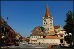 Cisnadie (T.S.Photo (Teodor Sirbu)) Tags: street medieval saxon transilvania romania church fortified