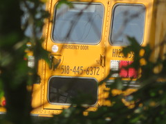 First Student #H1236591 (ThoseGuys119) Tags: firststudentinc glenmontny schoolbus 2018 minotour thomasbuilt whitetop