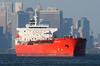 ASTIR LADY in New York, USA. September, 2017 (Tom Turner - NYC) Tags: astirlady red crimson scarlet vessel tanker ship anchored anchorage stapleton bay manhattan skyline statenisland newyork nyc bigapple usa unitedstates tomturner marine maritime pony port harbor harbour transport transportation