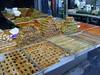 Arab sweets (Shuki Raz) Tags: carmel market sweets arab israel telaviv baklava kanafeh