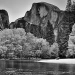 Faux Infrared (Black & White, Yosemite National Park) thumbnail