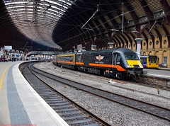 43465 @ York (A J transport) Tags: 43465 hst class43 intercity grandcentral diesel railway trains england