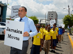 DR. TUFTON 'WALKS THE TALK' IN PROMOTING HEALTHY LIFESTYLE (JIS)