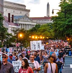 2017.08.13 Charlottesville Candlelight Vigil, Washington, DC USA 8114