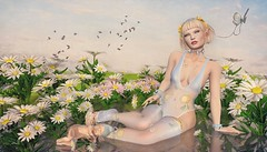 Flower Sprite (Duchess Flux) Tags: collabor88 rewind uber catwa blush prismagica astralia wasabipills deetalez voluptasvirualis aisling lode elderberry redmint imeka ariskea hextraordinary fae fairy elf sprite secondlife fantasy sl
