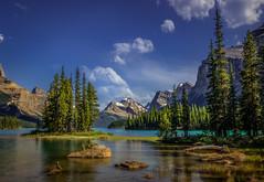 Let your spirit soar (jenni 101) Tags: alberta canada canadianrockies jaspernationalpark rockies spiritisland mountains