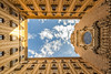 Monasterio de Montserrat (victormedina2) Tags: monasterio montserrat encuadre nitido hyperfocal enfoque perspectivas yellow montaña verano summer angular sigma canon 816 600d ventanas nubes azul blue day