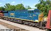 CSXT 1 (Spirit of West Virginia) (KansasScanner) Tags: shawnee zarah kansas bnsf ns csxt csxt1 ns8102 8102 train railroad