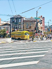 Castro (O Caritas) Tags: 20170521165733 streetcar fline thecastro castrodistrict sanfrancisco california marketstreet muni castrostreet 17thstreet castrotheatre janewarnerplaza intersection tram trolley