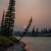 Smoky Evening River