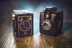 Box camera (VandenBerge Photography (On/off ....but mostly off) Tags: eos80d canon boxcamera closeup classic vintage agfa gevaert stilllife