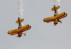 Team Trig (Bernie Condon) Tags: bigginhill airport londonbigginhill historic airfield airshow aviation display flying aircraft planes plane festivalofflight pittsspecial s1d biplane aerobatic acrobatic formation team stunt trigteam trig