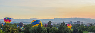 Spirit of Boise Balloon Classic 2017