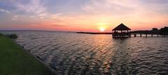 5529ex Whalehead sunset pano