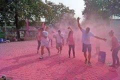 The color run - The pink lane (Red Cathedral uses albums) Tags: sonyalpha a58 eventcoverage alpha sony colorrun sonyslta58 slt evf translucentmirrortechnology spartacusrun mudrun ocr strongmanrun obstaclerun redcathedral urbanart contemporaryart streetphotography belgium alittlebitofcommonsenseisagoodthing gladiatorrun colourrun thecolorrun holi pink pnk roze powder running girlsrunning race brussel brussels bruxelles tour taxis havenlaan miniskirt