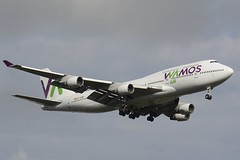 EC-KSM Wamos Air Boeing 747-400 (Henrik Kiuru) Tags: wamos wamosair b747 boeing747 boeing boeing747400 b747400 ecksm efhk helsinkivantaa
