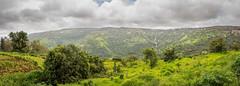 Panoramic Waterfall (views@vista) Tags: clouds hills holidays india landscape mahabaleshwar monsoon mountains nature outdoor panorama panoramasingles sky trees vacation waterfall westernghats
