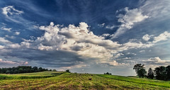 IMG_3866-68Ptzl1TBbLGERC (ultravivid imaging) Tags: ultravividimaging ultra vivid imaging ultravivid colorful canon canon5dmk2 clouds fields farm landscape lateafternoon scenic summer pennsylvania pa vista panoramic rural stormclouds