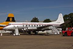 G-ALWF Vickers Viscount 701 Brirish European Airways (Keith B Pics) Tags: galwf viscount vickers bea britisheuropeanairways channelairways cambrian keithbpics duxford iwm imperialwarmuseum
