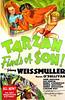 Tarzan Finds a Son (1939, USA) - 06 (kocojim) Tags: maureenosullivan illustrated kocojim movieposter poster johnnyweissmuller advertising illustration film johhnnysheffield motionpicture movie publishing