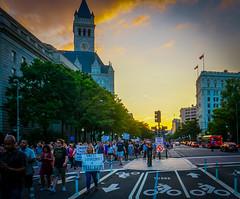 2017.08.13 Charlottesville Candlelight Vigil, Washington, DC USA 8097
