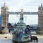 HMS Belfast Tower Bridge thumbnail