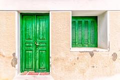 Lefkes, Paros (Kevin R Thornton) Tags: d90 shutter nikon travel green mediterranean greece door facade lefkes paros egeo gr