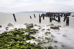 fleming point (eb78) Tags: ca california eastbay albany flemingpoint longexposure abandoned pier decay