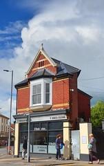St Woolos Barbers, Newport (Charles Dawson) Tags: newport