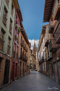 Catedral de Oviedo (De la calle Mon a la calle Santa Ana)