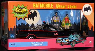 Funko - Batman Classic TV - Batmobile_Batman_Robin