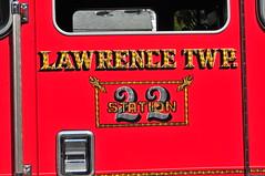 Lawrence Road Fire Company Telesquirt 22 (Triborough) Tags: nj newjersey mercercounty lawrencetownship lawrenceville lawrenceroadfirecompany firetruck fireengine engine telesquirt squirt telesquirt22 kme firestix