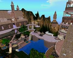 Elven Quest (Arya Spires-Dillion) Tags: firestorm secondlife secondlife:region=elvenquest secondlife:parcel=elvenquest secondlife:x=232 secondlife:y=122 secondlife:z=59 roleplay dragons fae mermaid bard wolfs orcs elves dwarfs unicon mystics vampires magic