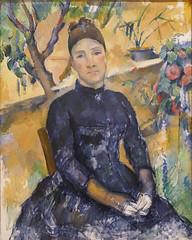 Cézanne, Madame Cézanne, 1891