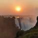 Sunrise Victoria Falls Zimbabwe Africa