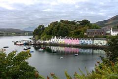 morning in portree (eblkbrn) Tags: isleofskye portree scotland cityscape harbor surnise unitedkingdom