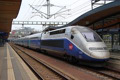 TGV Duplex (Krzysztof D.) Tags: europa europe dworzec station stacja bahnhof tgv pociąg train zug kolej bahn railway luksemburg luxembourg electric elektryczny