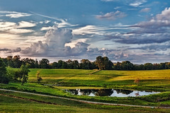 IMG_4774tzl1scTBbLGER (ultravivid imaging) Tags: ultravividimaging ultra vivid imaging ultravivid colorful canon canon5dmk2 clouds sunsetclouds stormclouds fields farm rural vista evening summer pennsylvania pa pond painterly scenic yourbestoftoday
