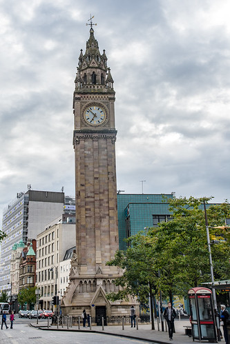 Belfast - Albert Memorial Clock Tower