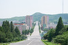 Kaesong Street (buddhistfunk) Tags: mansudae art studio north korea dprk korean koreans kaesong pyongyang nampo nampho kim jong il un sung dmz south flag unification reunification school children railway science ryomyong countryside real western barrage dam farm cooperative