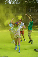 The color run - Green lane (Red Cathedral uses albums) Tags: sonyalpha a77markii a77 mkii eventcoverage alpha sony colorrun sonyslta77ii slt evf translucentmirrortechnology spartacusrun mudrun ocr strongmanrun obstaclerun redcathedral streetart contemporaryart streetphotography belgium alittlebitofcommonsenseisagoodthing thecolorrun powder brussels bruxelles brussel colourrun holi havenlaan tourtaxis girlsrunning green groen thehappiest5kontheplanet
