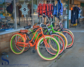 Scoot and Paddle Bicycles