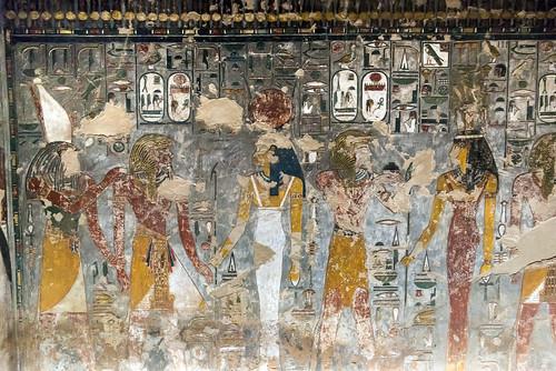 KV17, The Tomb of Seti I, Well chamber E