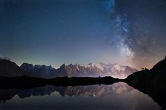 Milky Way on Mont Blanc (chente38) Tags: ifttt 500px way nikon stars france mountain peak alps moun milky haute astro alpine blanc savoie lake discover mont alp alpenglow mountainscape chasing shuksan gosau